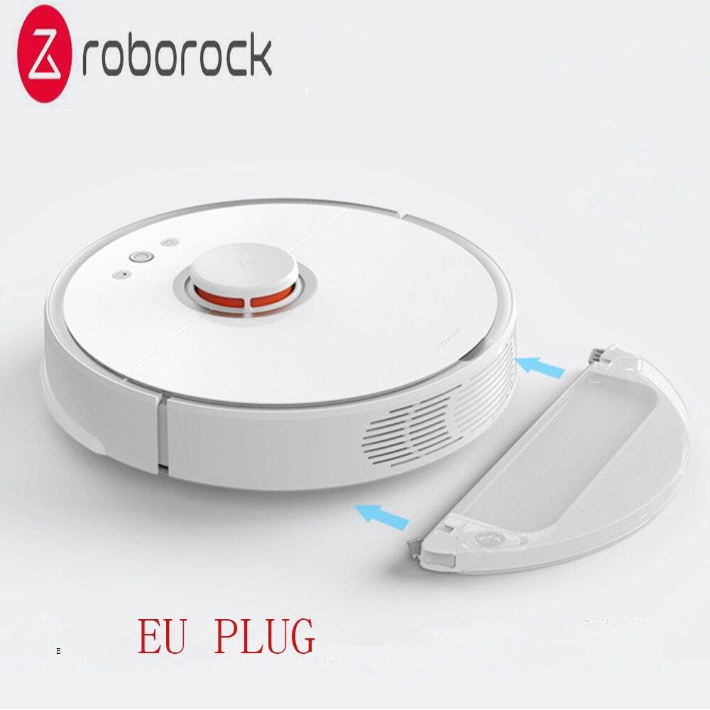 Roborock S50 Deuxième-Génération Robot Aspirateur International Version UE Plug Capteurs Intelligents Système Chemin Planification