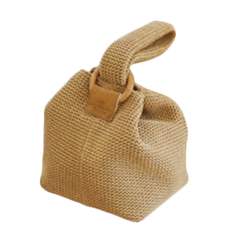 Women Handbag Straw-Bags Female Beach Fashion Summer Ladies for Rattan