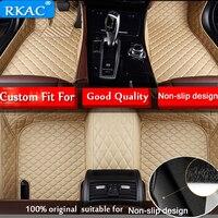 Car floor mats for Ford Focus 2005 2017 4Door/5Door Hatchback/Sedan 5D waterproof custom fit car liners foot mats