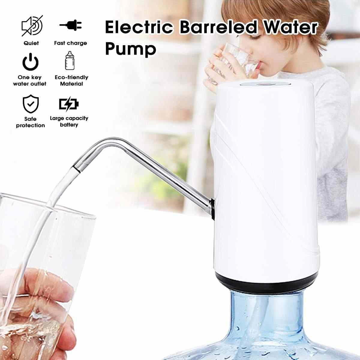 Warmtoo 5 Вт 5 В Электрический дозатор воды зарядка через usb 1200ма батарея диспенсер для бутылочного насоса водяное Насосное устройство