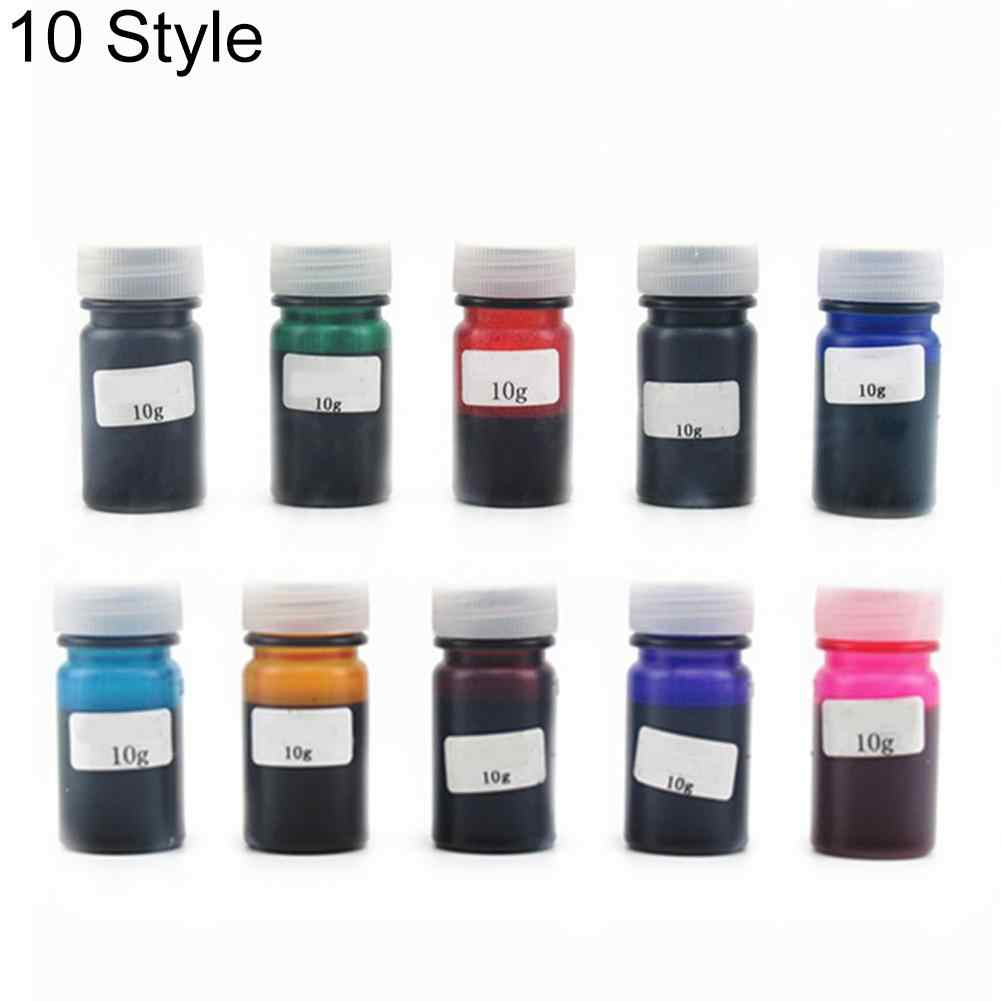 Alibaba Express 10 Colors 10g High Concentration UV Resin Liquid Pearl Dye Pigment Resin Epoxy for DIY Jewelry Making Crafts