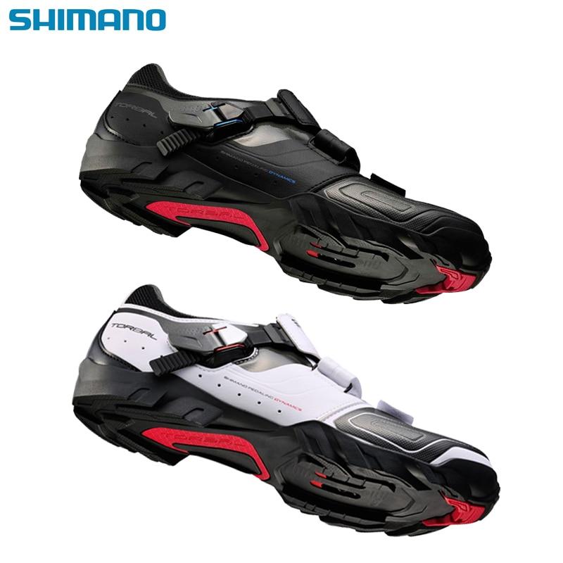 Shimano M089 mtb cycling shoes mountain bike shose spd bicycle shoes men winter leather sport enduro
