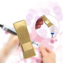 BellyLady Dental Drill Bit Cleaning Brush Portable Electric Manicure Drills Copper Wire Cleaner