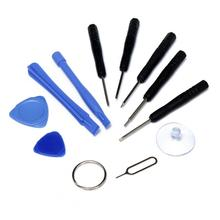 Universal 11 in 1 set Hand Tools Metal Spudger Pry Opening Screwdrivers Tools Kits for Tablet Smartphone Repairing Tool