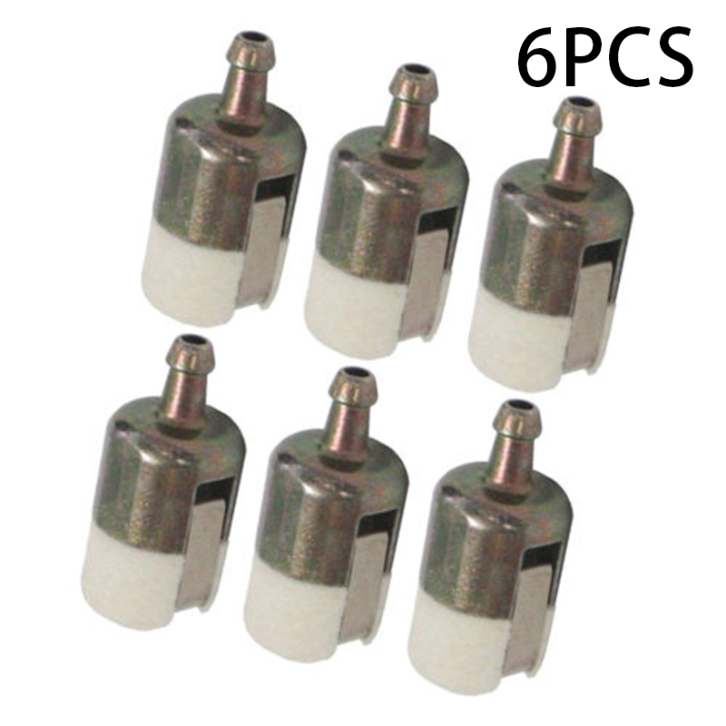 6pcs Gas Fuel Filter Pickup Replacement For Echo 13120507320 Chainsaw 125-527 Fuel Filters Replacements Accessories