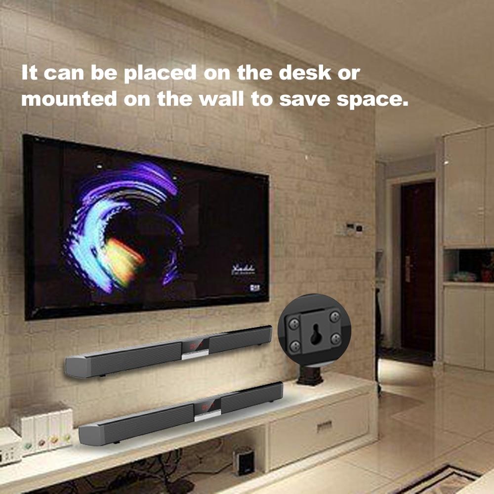 TV Home Theater Soundbar Bluetooth Stereo Speaker Subwoofer Remote control LOT