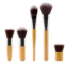 5pcs/Set Pro Makeup Brushes Sets Blush Foundation Powder Cosmetic Tools Pincel Maquiagem