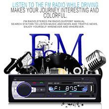 1 Din 12 V Car Auto Radio Bluetooth Subwoofer Car Stereo Radio FM Lettore Audio del Caricatore USB SD AUX Auto elettronica Musica Touring