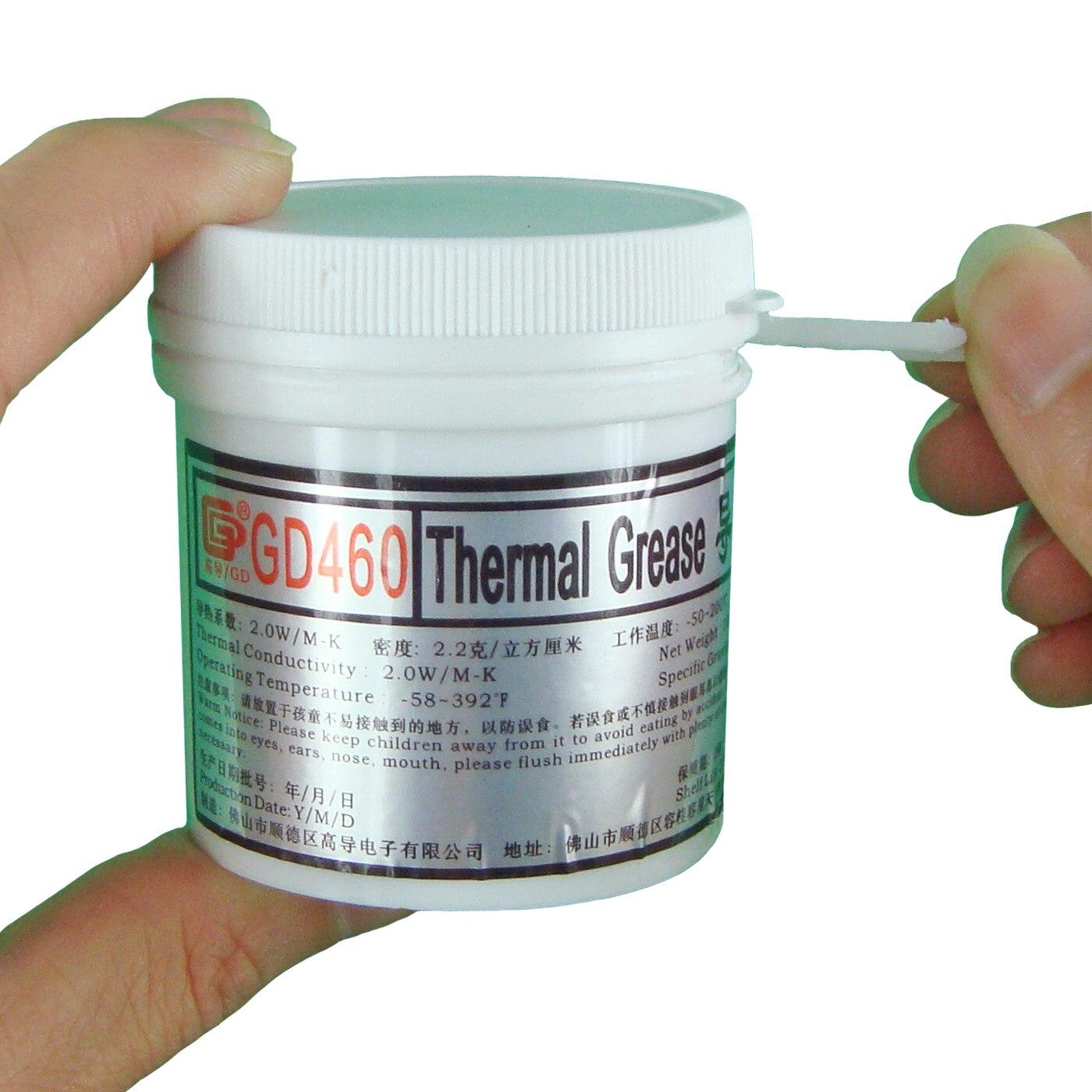 GD460 жылу өткізгіштік паста майлылығы - Компьютерлік компоненттер - фото 3