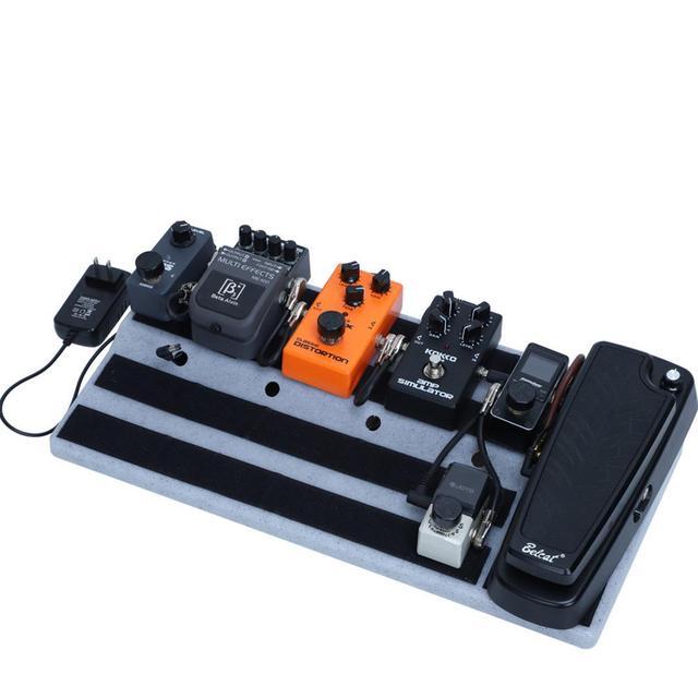 Electric Guitar Effects Pedal Board Pedalboard RockBoard Pedal Waterproof Universal Guitarra Bag Gig handbag Soft Large Case 1
