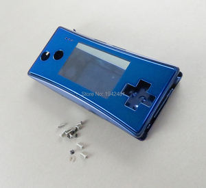 Image 4 - 1pcs Replacement Housing Shell case for GameBoy Micro GBM Faceplate 5 colors Shell screw