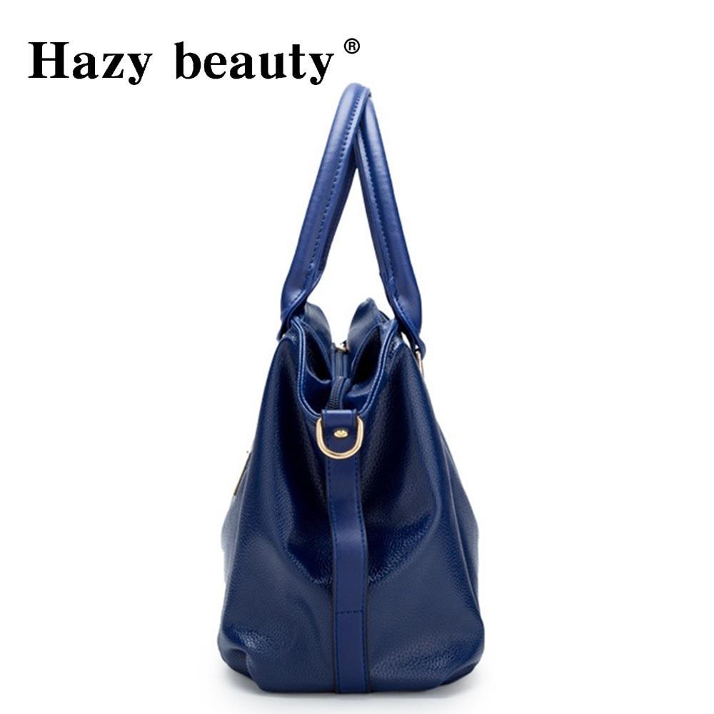 Hazy beauty Women Handbag Female PU Leather Bags Handbags Ladies Portable Shoulder Bag Office Ladies Hobos Bag Totes 58