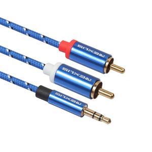 Image 5 - EastVita Cáp RCA 2RCA 3.5 Cáp Âm Thanh 3.5Mm To 2RCA Âm Thanh Phụ Trợ Aux Stereo Chia Cổng Cáp dây 0.5M/1M/1.8M/3M