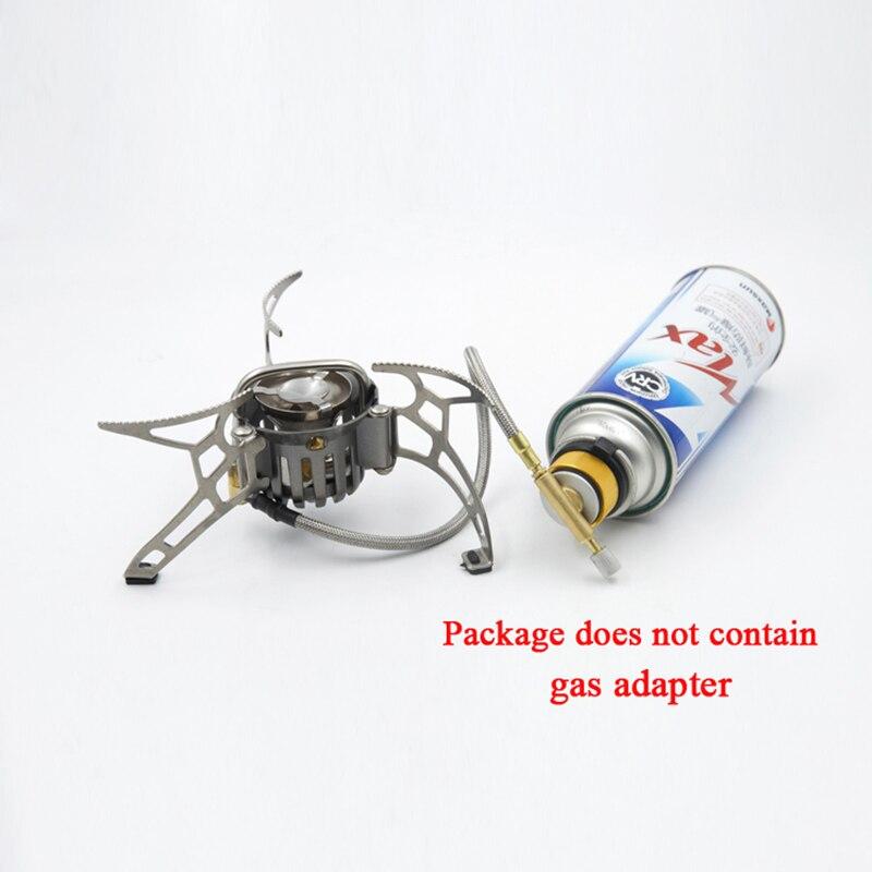 APG 1000 Ml cuisinière à essence extérieure multi-usages Camping huile et gaz cuisinière bouteille de carburant Camping outil en plein air Portable ustensiles de cuisine - 4