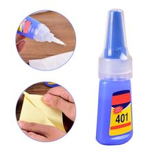 Многоцелевой 401 супер сильный жидкий клей деревянные изделия пластиковые игрушки мобильный телефон оболочка клей школьные офисные принадлежности 20 г