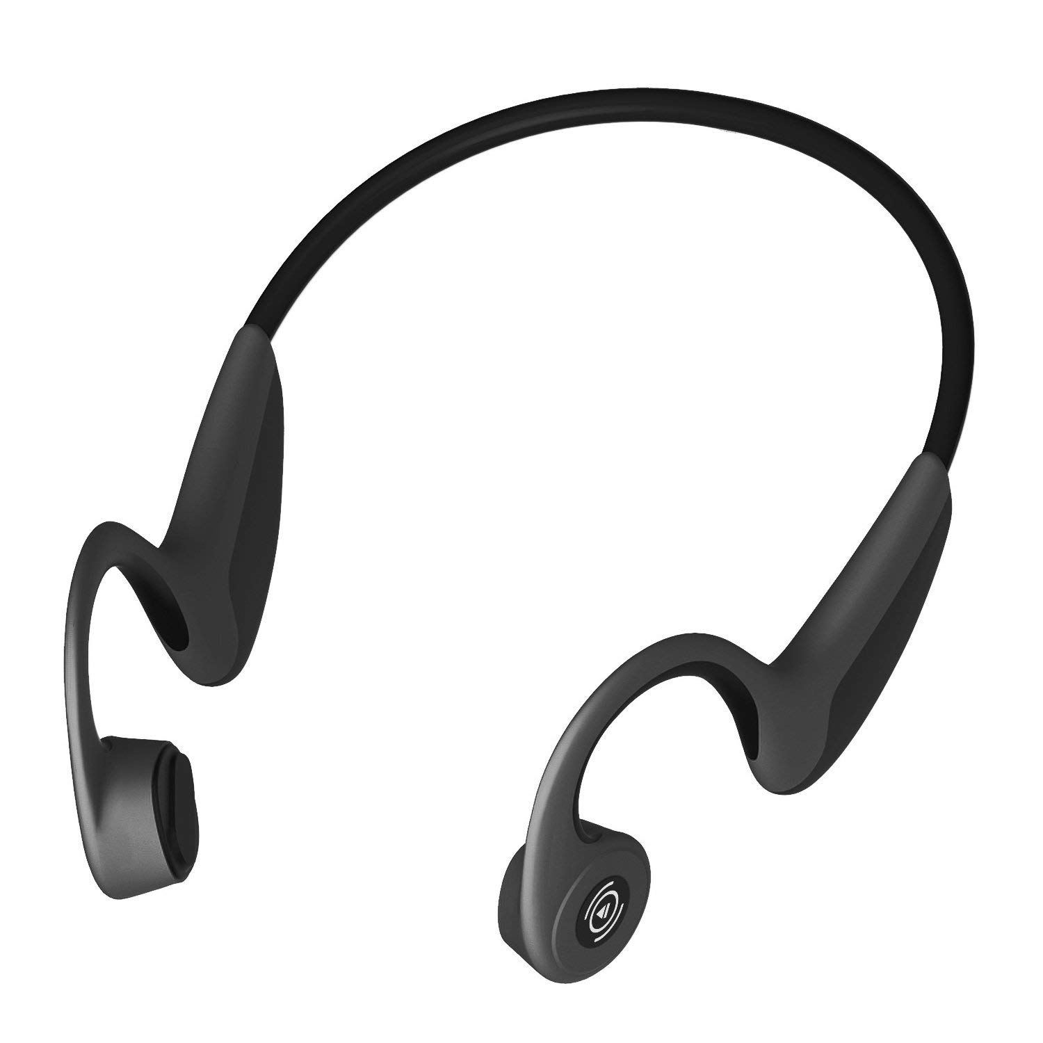Bone Conduction Headphones Bluetooth Wireless Sports Headsets IP55 Waterproof Built In HiFi Stereo Horn Produces with Mic for