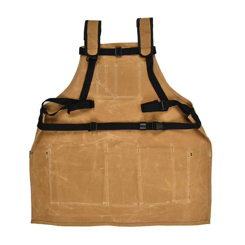 Waxed Canvas Tool Apron in Aprons from Home Garden