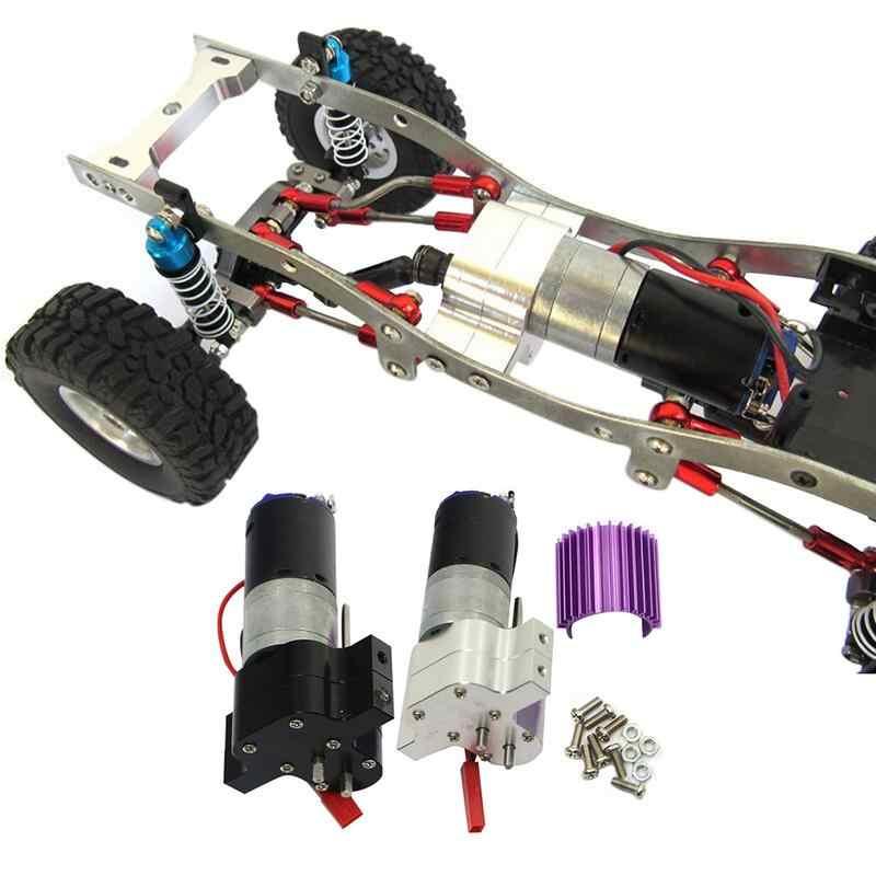 2019 nuevo cambio de velocidad caja de cambios de Metal 370 Motor con disipador de calor para WPL RC coche Dropshipping