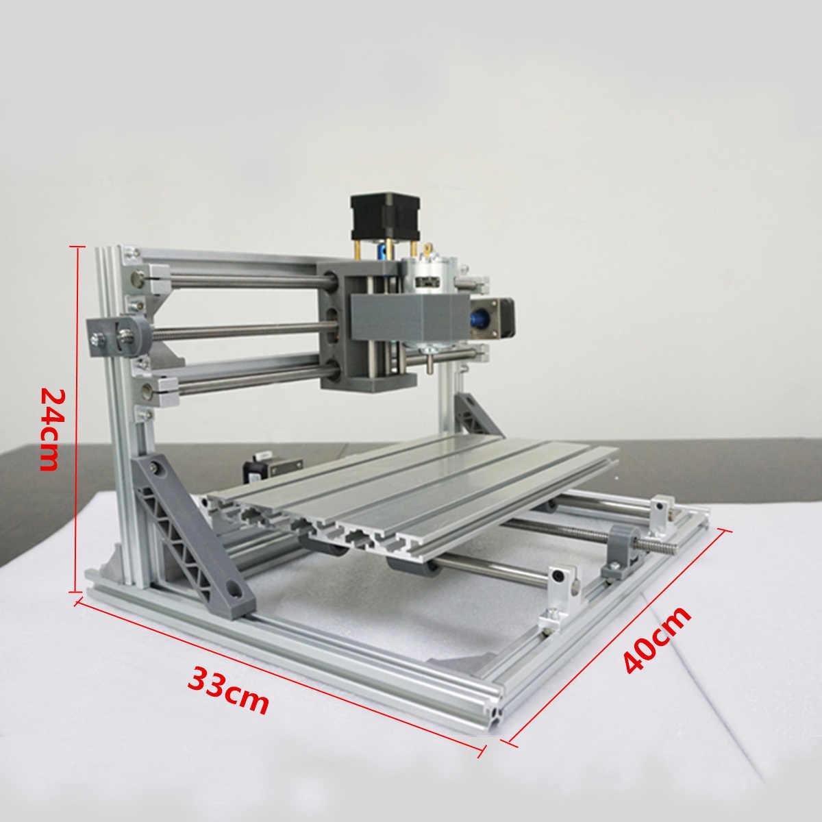 DIY מיני CNC נתב לייזר מכונה 3 ציר 3018 GRBL בקרת Pcb Pvc כרסום עץ נתב עץ נתב לייזר חריטה