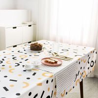 Nordic simplicity modernity tablecloth dining table covers thick dressing table cloth home kitchen banquet party decoration