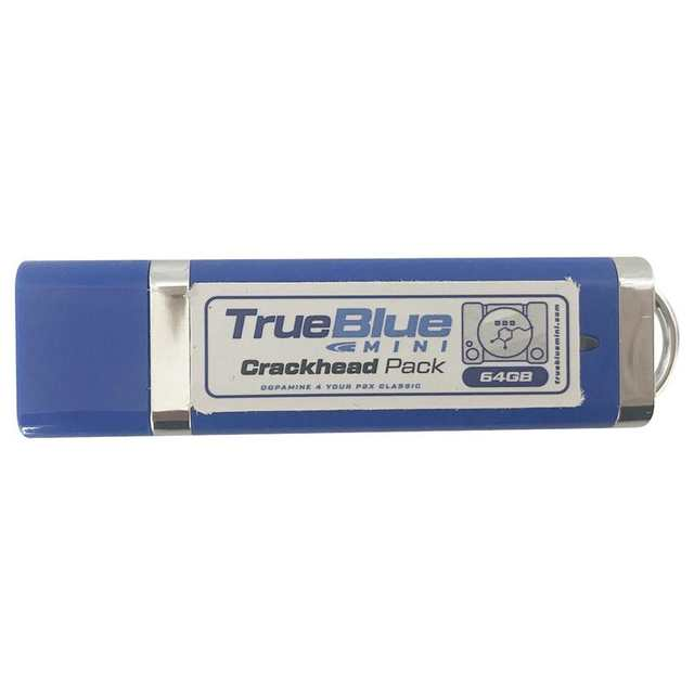 64GB True Blue Mini Crackhead Pack/Meth Pack For PlayStation Classic Games  & Accessories 101 Games