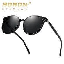AORON Sunglasses Men Polarized New Fashion Vintage Round UV400 Sun Glasses For Women Mirror Eyewear Classic Luxury Brand TR90 цена и фото