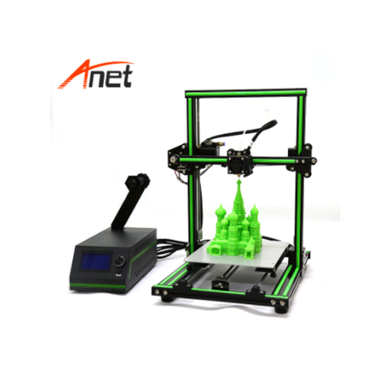 Lowest Price in the Market Anet E10 3d Printer Semi Assembled Aluminum Frame 3D Printer Large