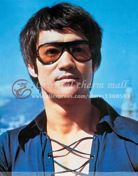 Bruce Vintage Original Sunglasses Aviator Design Lee Classic Italy bHeWEI9YD2