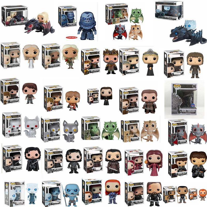 Funko pop Song Of Ice Fire Game Of Thrones Iron Throne Petyr Baelish brinquedos Action Figure toys for children Gift with box image