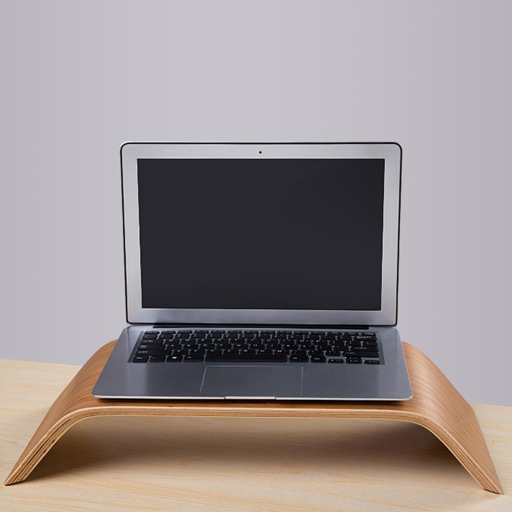 Universal Desktop PC Monitor Notebook Laptop Heighten Bamboo Stand Base Holder 2019NEW Universal Desktop PC Monitor Notebook Laptop Heighten Bamboo Stand Base Holder 2019NEW