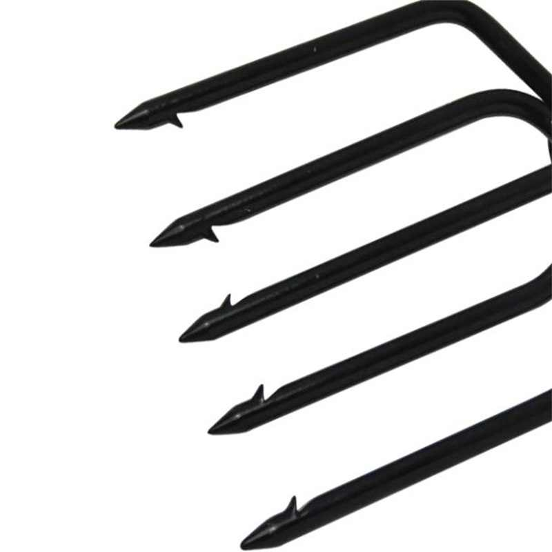 Fishing Spear big 5 Prong Spearhead Fork Harpoon Tip with Barbs Diving Spear Gun Head Fishing Tools Free Shipping