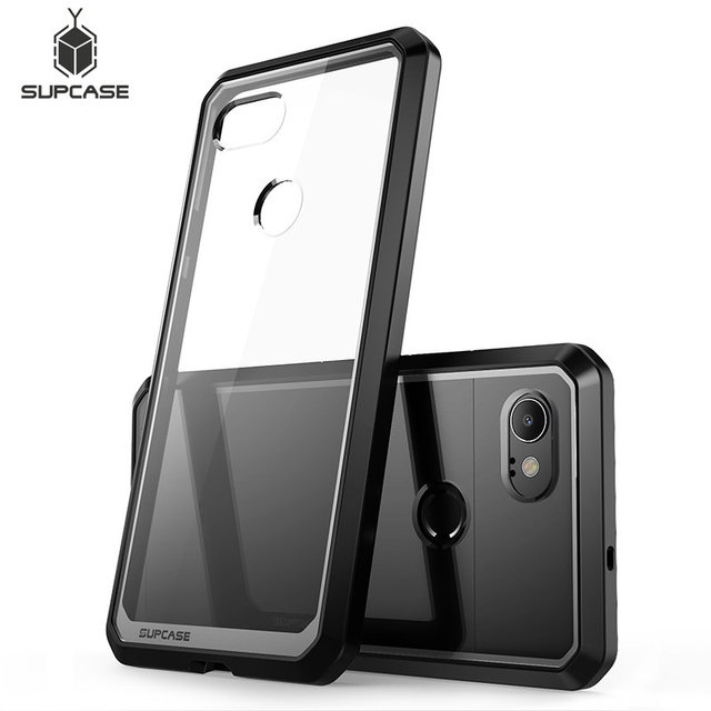 For Google Pixel 2 XL Case (2017 Release) SUPCASE UB Series Premium Hybrid TPU Bumper + PC Clear Back Case Protective Cover
