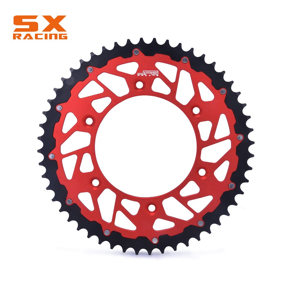цены 44T 46T 47T 48T 49T 50T 51T 52T Engine Part Rear Sprocket Chain For HONDA CR125R CR250R CR500R CRF XR250R XR400R XR600R XR650R