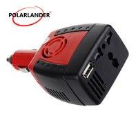 Professionelle 150 watt Auto Inverter DC 12 v zu AC 110 v Power Inverter Ladegerät Converter Transformator Fahrzeug Netzteil schalter