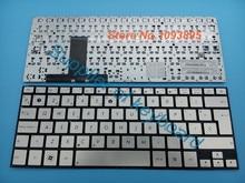 Mới Latinh Tây Ban Nha Bàn Phím dành cho Laptop Asus Zenbook Ultrabook UX31 UX31E UX31A UX31LA Laptop Tây Ban Nha Bàn phím Bạc
