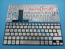 New Latin Spanish Keyboard for Asus Zenbook Ultrabook UX31 UX31E UX31A UX31LA Laptop Spanish keyboard Silver