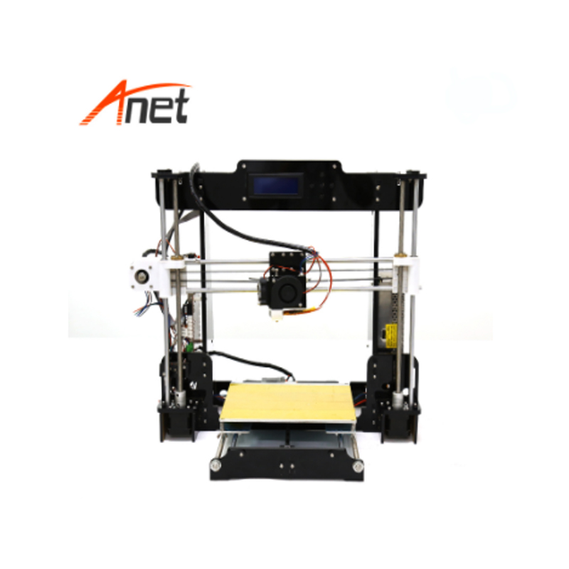 High Precision Upgraded Reprap Prusa i3 DIY 3D Printer Kit Anet A8 A6 3d Printer Metal With Acrylic Lead Screw Frame Material in 3D Printers from Computer Office