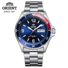 100% orijinal Orient erkek saati 200M su geçirmez spor Diver/yüzmek izle paslanmaz çelik aydınlık eller bölüm