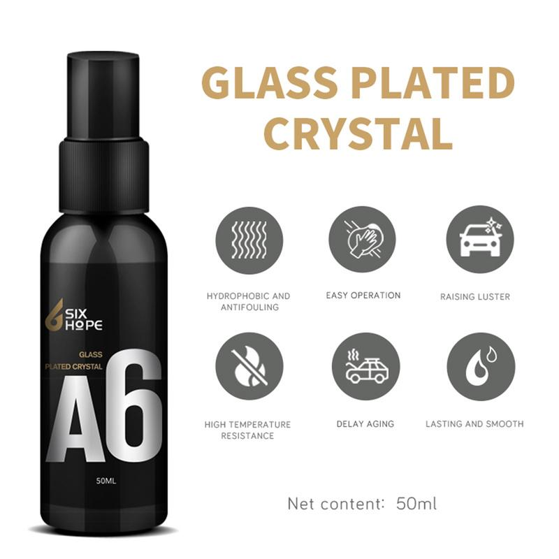 50ml Automotive Car Glass Coating Agent Rainproof Rearview Mirror Car Glass Cleaning Water Flooding Agent Car Care Products