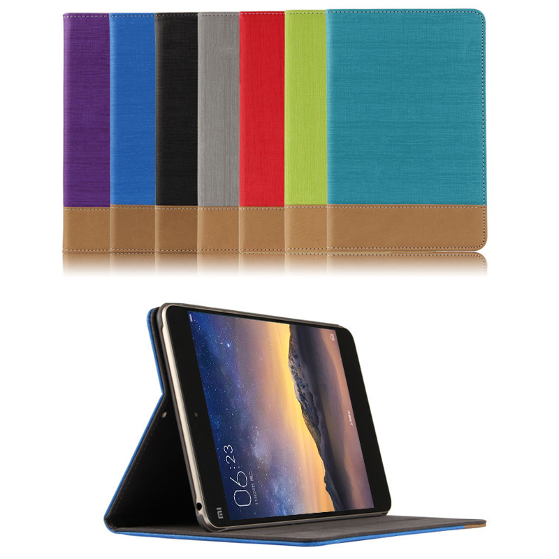 Case capa Para Xiao mi mi Pad 2 pad2 pad3 Capa Protetora PU De Couro para mi mi mi pad 2 3 mi pad 2/3 Tablet PC Caso Protetor de 7.9