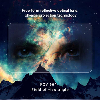 Holographic Effects Smart AR Box Augmented Reality Glasses Helmet 3D Virtual Comfortable 5