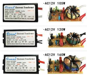 Image 3 - 3 jahre garantie Elektronische Transformator AC 220V AC12V für Halogen Lampe Kristall G4 Glühbirne 20W 40W 50W 60W 80W 105W 120W 160W