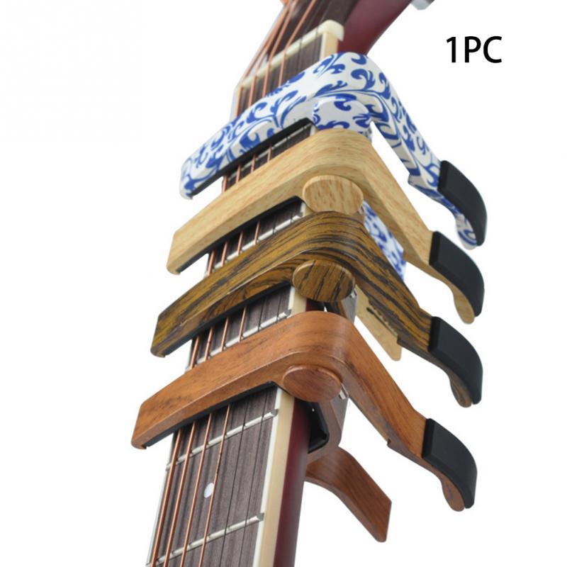 aluminum alloy guitar capo sound adjust clip quick key change guitar capo tuner for acoustic. Black Bedroom Furniture Sets. Home Design Ideas