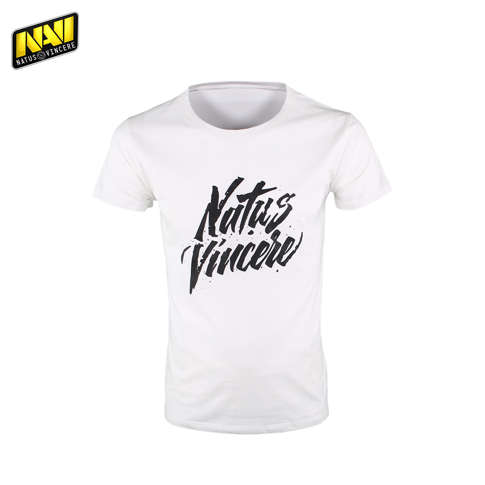 T-Shirts NATUS VINCERE FNVTSHIRT17WT0000 mens shirt Clothing Tops Tees Jersey men Cotton NAVI CS:GO Dota 2 simple esports new summer casual cotton men short jeans fashion brand men s bermuda boardshorts jeans shorts mens ripped plus size 28 36