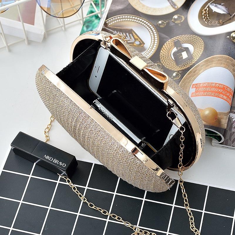 Womens Ladies Designer Style Shoulder Bag Qaulity Evening Bow Tote Handbags