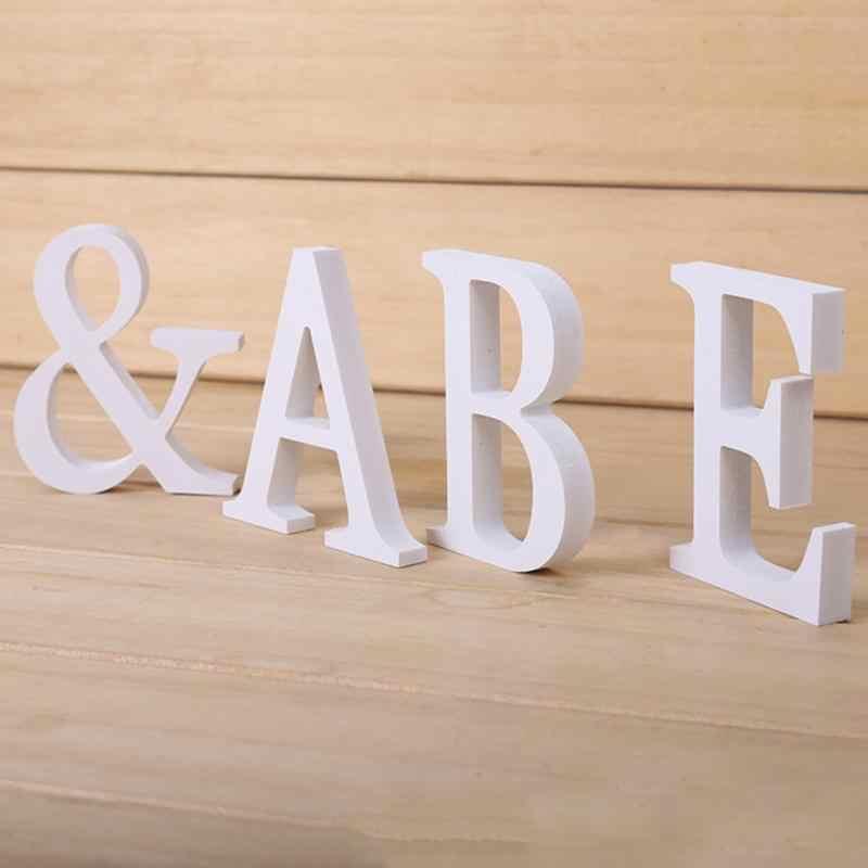 DIY Dekorasi Rumah Kayu Huruf Abjad Kata Bridal Pesta Pernikahan Dekorasi Rumah Nautical Dekorasi Persediaan Ornamen Grosir 0118