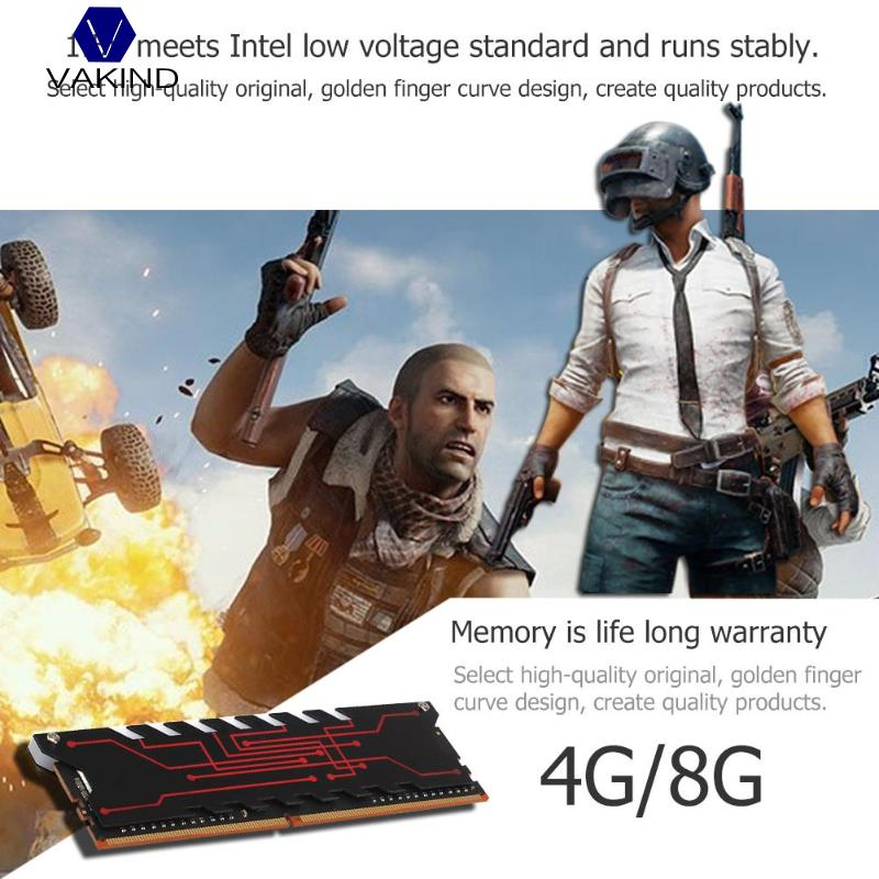 4G/8G RAM Internal Memory DDR4 2233MHz Radiator Server Memory for PC Computer Laptop Intel AMD Motherboard Mainboard