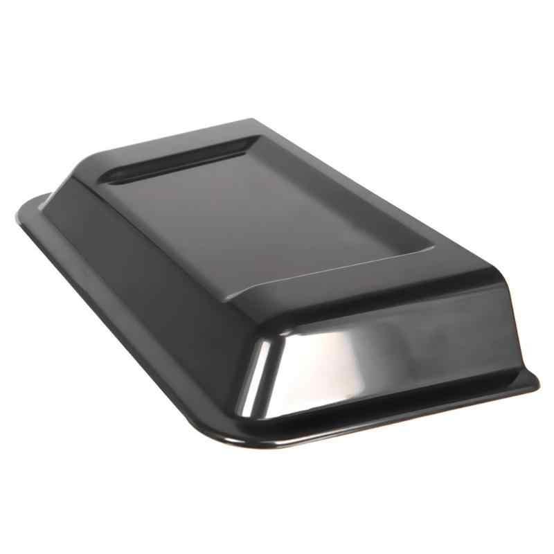 1 יחידות שחור ABS פלסטיק רכב ברדס דוד אוויר Vent הוד סקופ עבור ג 'יפ רנגלר TJ JK 98-18 אביזרי רכב