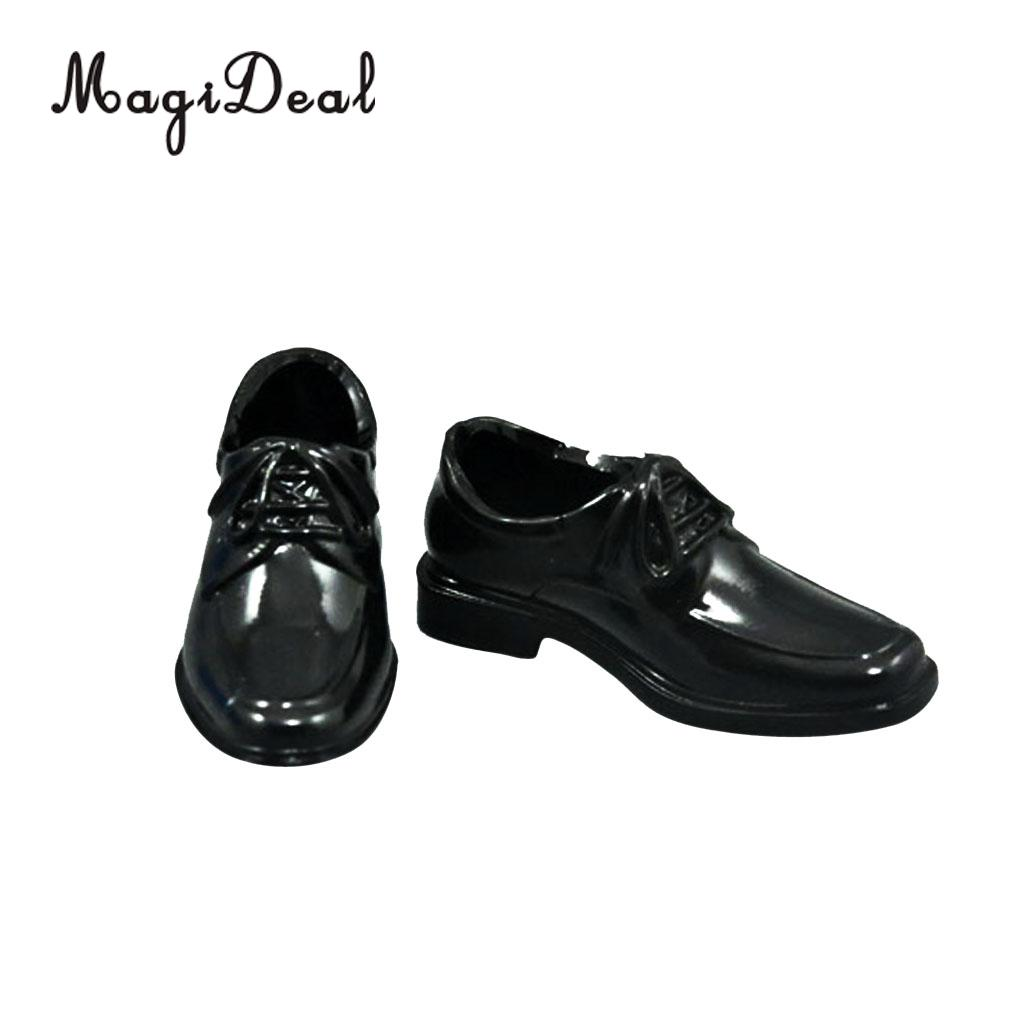 High-Top Dress-Shoes Action-Figure Body-Dolls Black Male 12inch for Daily-Wear Acc 5cm