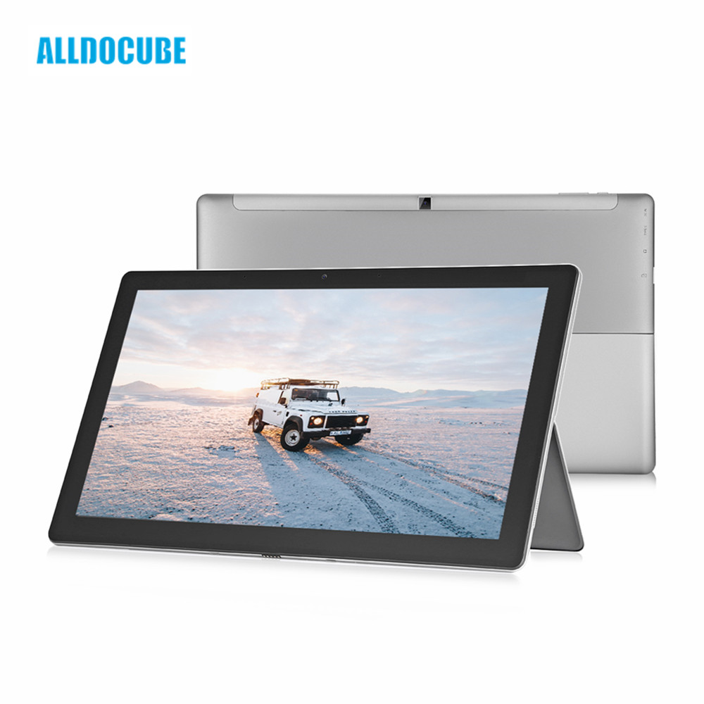 ALLDOCUBE KNote 8 2 In 1 Tablet PC 13.3 Inch 8GB RAM 256GB SSD Intel Core M3-7Y30 Dual Core 1.0GHz 2K Screen Windows 10 Tablet